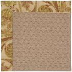 Lisle Machine Tufted Tan/Brown Indoor/Outdoor Area Rug Rug Size: Round 12' x 12'