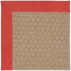 Lisle Machine Tufted Sunset Red Indoor/Outdoor Area Rug Rug Size: Square 6'