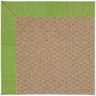 Lisle Machine Tufted Grass/Brown Indoor/Outdoor Area Rug Rug Size: Rectangle 12' x 15'