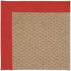 Lisle Machine Tufted Red Crimson Indoor/Outdoor Area Rug Rug Size: Rectangle 12' x 15'