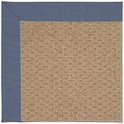 Lisle Machine Tufted Blue/Brown Indoor/Outdoor Area Rug Rug Size: Rectangle 3' x 5'