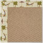 Lisle Machine Tufted Beige/Brown Indoor/Outdoor Area Rug Rug Size: Rectangle 4' x 6'