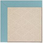 Lisle Sea Blue Indoor/Outdoor Area Rug Rug Size: Square 12'