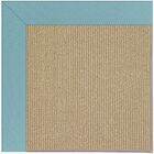 Lisle Machine Tufted Bright Blue/Brown Indoor/Outdoor Area Rug Rug Size: Rectangle 10' x 14'