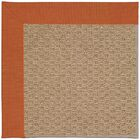 Lisle Machine Tufted Russett/Brown Indoor/Outdoor Area Rug Rug Size: Square 8'