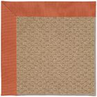 Lisle Machine Woven Clay/Brown Indoor/Outdoor Area Rug Rug Size: Rectangle 3' x 5'