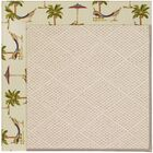 Lisle Beige Indoor/Outdoor Area Rug Rug Size: Rectangle 3' x 5'