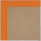 Lisle Machine Tufted Clementine/Brown Indoor/Outdoor Area Rug Rug Size: Square 4'