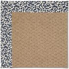 Lisle Machine Tufted Midnight/Brown Indoor/Outdoor Area Rug Rug Size: Rectangle 3' x 5'