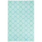 Coastline Light Green Trellis Area Rug Rug Size: Rectangle 8' x 11'