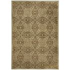 Portia Pinwheel Brown/Tan Indoor/Outdoor Area Rug Rug Size: Rectangle 6'7