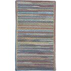 Phoebe Medium Blue Multi Rug Rug Size: Cross Sewn Runner 2'3