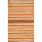 Barred Sunny Deep Grey Striped Area Rug Rug Size: Rectangle 8' x 11'