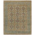 Brandon Hand Knotted Ocean Area Rug Rug Size: 8'6