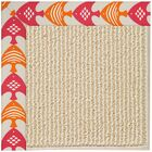 Lisle Machine Tufted Autumn/Brown Indoor/Outdoor Area Rug Rug Size: Rectangle 7' x 9'