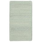 Vivid Cross Sewn Braided Eggshell Area Rug Rug Size: Rectangle 11'4