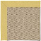 Barrett Machine Tufted Yellow/Beige Area Rug Rug Size: Rectangle 12' x 15'