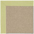 Barrett Champagne Machine Tufted Light Green/Beige Area Rug Rug Size: Square 6'