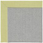 Barrett Silver Machine Tufted Light Green/Gray Area Rug Rug Size: Round 12' x 12'