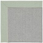 Barrett Silver Machine Tufted Minty/Gray Area Rug Rug Size: Round 12' x 12'