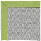 Barrett Silver Machine Tufted Green Grass/Gray Area Rug Rug Size: Rectangle 8' x 10'