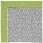 Barrett Silver Machine Tufted Green Grass/Gray Area Rug Rug Size: Square 6'