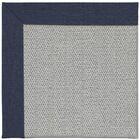 Barrett Silver Machine Tufted Navy/Gray Area Rug Rug Size: Rectangle 10' x 14'