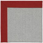 Barrett Silver Machine Tufted Apple Red/Brown Area Rug Rug Size: Rectangle 5' x 8'