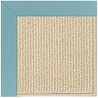 Lisle Machine Tufted Bright Blue/Beige Indoor/Outdoor Area Rug Rug Size: Rectangle 5' x 8'