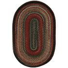 Burdock Coal Area Rug Rug Size: Oval 2'3