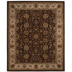 Forest Park Medallions Dark Coffee Area Rug Rug Size: Rectangle 5'6