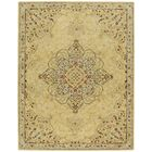 Smyrna Hand-Tufted Yellow Area Rug Rug Size: 9'6