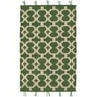 Pillar Green Area Rug Rug Size: 8' x 11'
