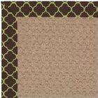 Lisle Brown Indoor/Outdoor Area Rug