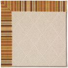 Lisle Beige Indoor/Outdoor Area Rug Rug Size: Square 12'