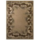 Spero Brown Area Rug Rug Size: 7'11