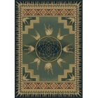Genesis Catcher Blue/Green Southwestern Area Rug Rug Size: Rectangle 5'3