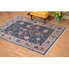 Grazierville Navy/Brown Area Rug Rug Size: Rectangle 6' x 9'