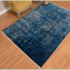 Barclee Power Loom Blue Indoor Area Rug Rug Size: Runner 2' x 8'
