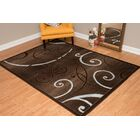 Dallas Bangles Area Rug Rug Size: 7'10