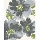 Martin Gray/Green Floral Area Rug Rug Size: Rectangle 7'10