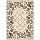 Angie Persian Ivory Area Rug Rug Size: Rectangle 3'11