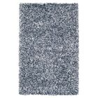 Romance Ivory/Blue Solid Area Rug Rug Size: Rectangle 8' x 10'
