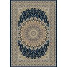 Attell Persian Navy Area Rug Rug Size: Rectangle 5'3