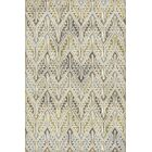 Edgao Gray/Yellow Area Rug Rug Size: Rectangle 7'10