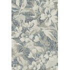 Lower West Side Gray/Blue Area Rug Rug Size: Rectangle 3'6