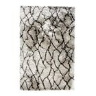 Cordell Silver/Brown Area Rug Rug Size: Rectangle 3' x 5'
