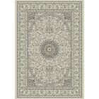 Attell Soft Gray/Cream Area Rug Rug Size: Rectangle 9'2