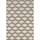 Lowes White/Beige Area Rug Rug Size: Rectangle 6'7