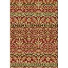 Berwick Red Area Rug Rug Size: Rectangle 5'3